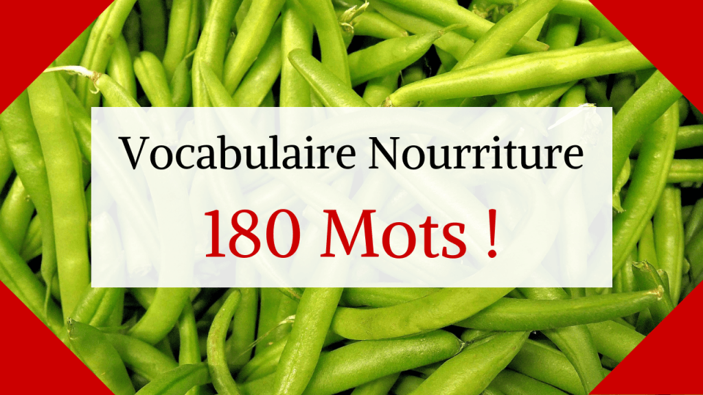vocabulaire illustr u00e9 de la nourriture en anglais  180 mots