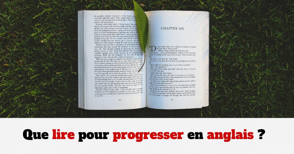 lire progresser en anglais
